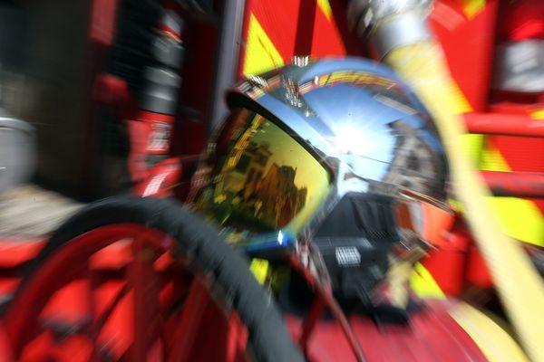 PHOTOPQR /L'EST REPUBLICAIN/MAXPPP / Lionel VADAM / Pompiers / Faits divers