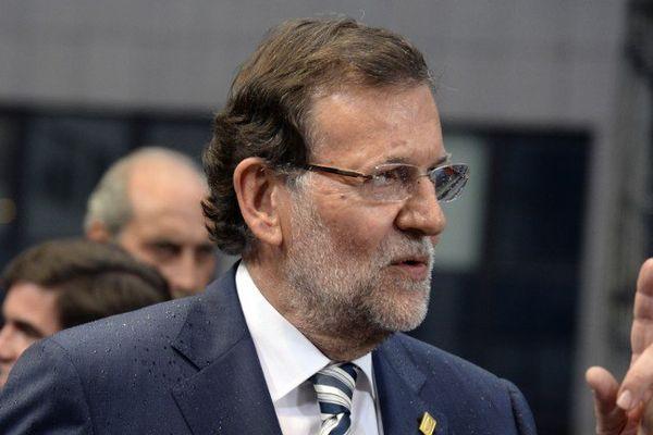 Le chef du gouvernement espagnol Mariano Rajoy - illustration