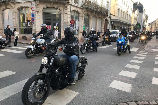 Dans les rues de Chalon-sur-Saône.