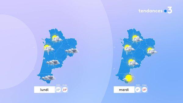 Une nouvelle perturbation pluvieuse va toucher toute la région dès lundi et faire chuter les températures...