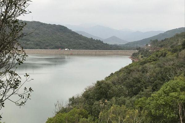 Le lac du Salagou et son barrage, 4/03/2021