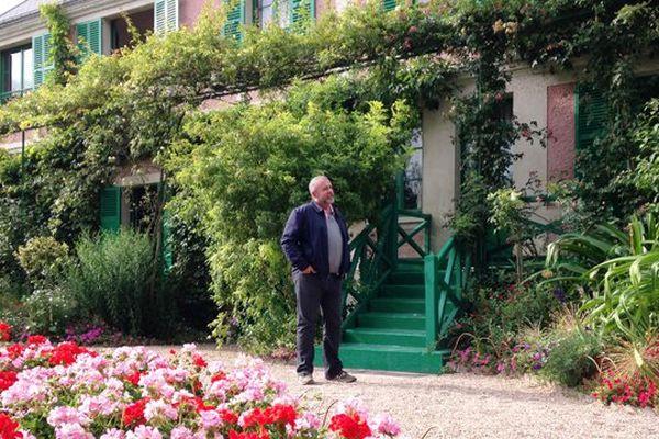 Emmanuel Maubert vous fait visiter la maison où Claude Monet vécut pendant 43 ans.