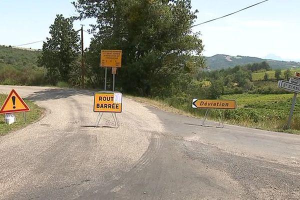 L'arrêté de circulation court jusqu'au 6 septembre.