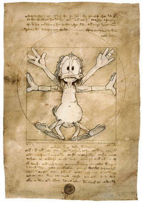 Le canard de Vitruve