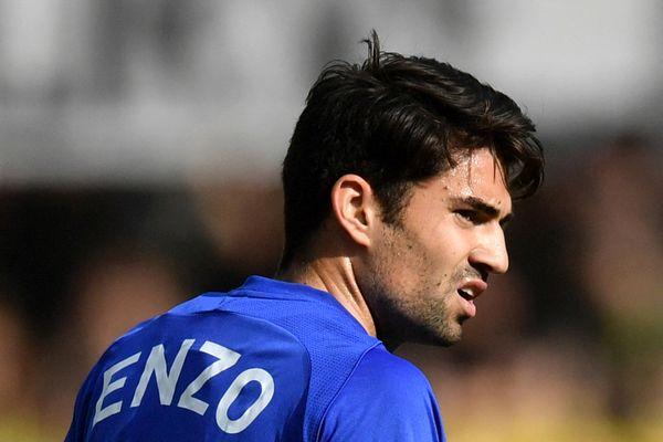 Enzo, fils aîné de Zinedine Zidane, a évolué dans plusieurs clubs espagnols, mais aussi au Portugal et en Suisse (ici sous le maillot de Lausanne) avant de poser ses valises au RAF, en Aveyron, pour la prochaine saison de Ligue 2.