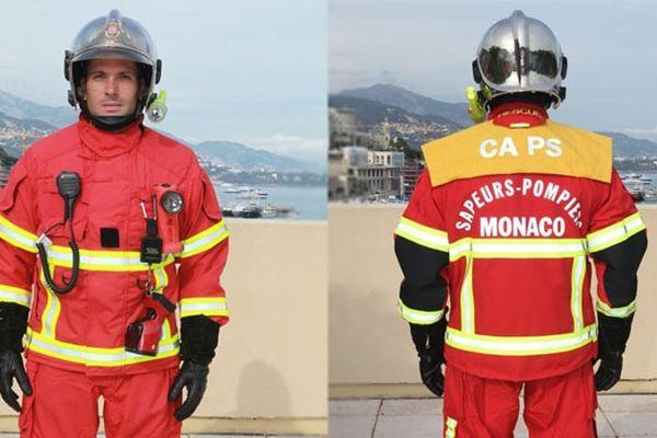 La nouvelle tenue des sapeurs-pompiers de Monaco.