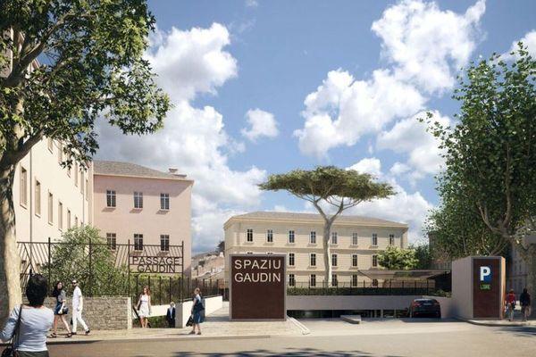 Le parking Gaudin devrait ouvrir en début d'année prochaine