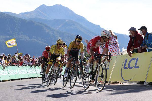 Orcières-Merlette (notre photo ce lundi), accueille régulièrement l'arrivée du Tour de France. Pour le Mont Aigoual (Gard), qui culmine à 1567 mètres, terme de la 6ème étape ce jeudi 3 septembre, ce sera une 1ère!