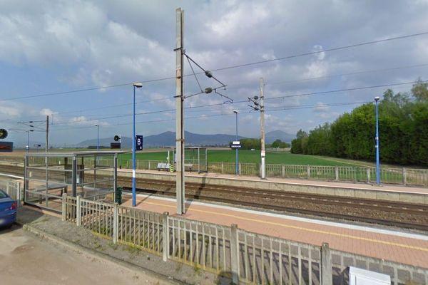 La gare d'Ebersheim en 2011 (image d'illustration).