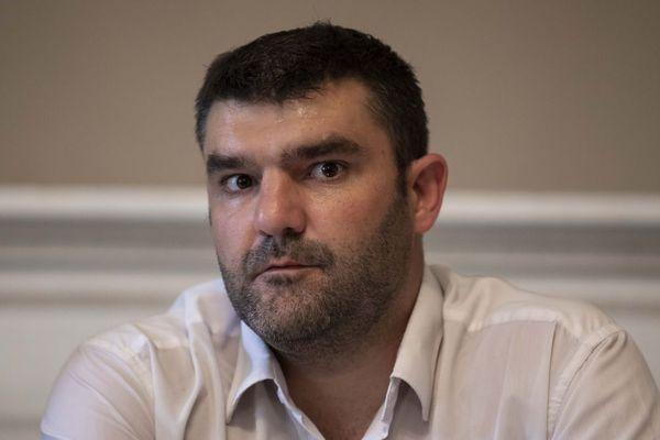 Jérémy Decerle, président national des Jeunes agriculteurs (JA) et éleveur de charolais en Saône-et-Loire