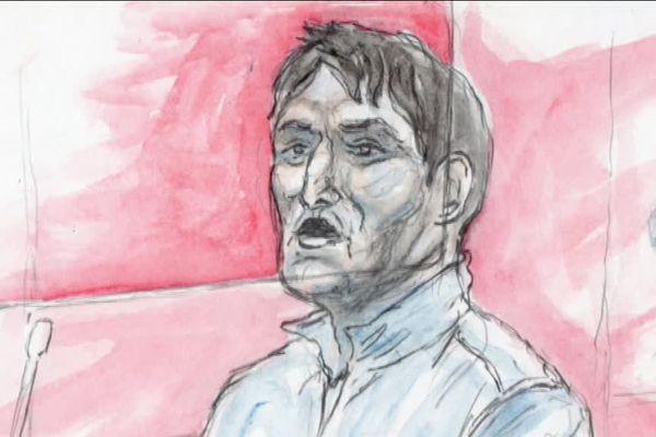 Florin Safta à son procès.
