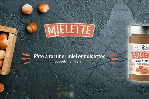 La marque Bleu Blanc Ruche, créée par l'ancien ministre de l'Economie Arnaud Montebourg, lance une pâte à tartiner fabriquée en France avec du miel et des noisettes