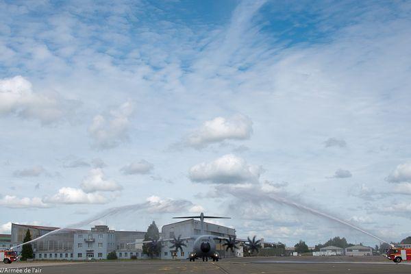 La base aérienne d'Orléans-Bricy dispose d'un A400M.
