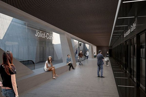 station Joliot Curie