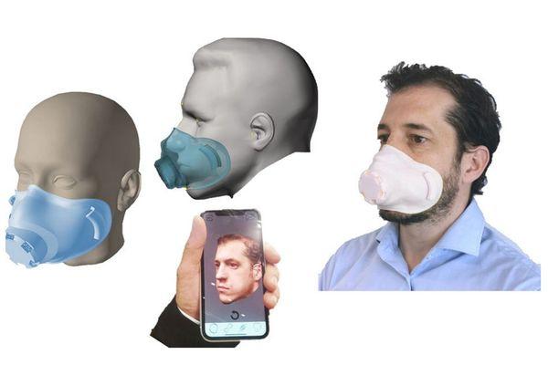 Des masques conçus avec l'Intelligence artificielle