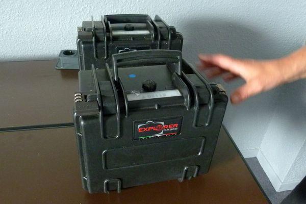 """Deux trackers : les """"boîtes noires"""" des ballons à gaz"""