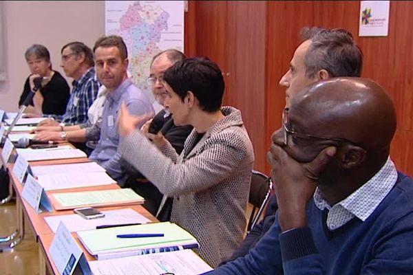 """Conférence de presse sur les """"couloirs humanitaires"""" en Franche-Comté"""