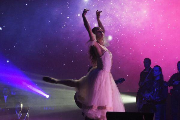 Danseuse russe du ballet Big Bang