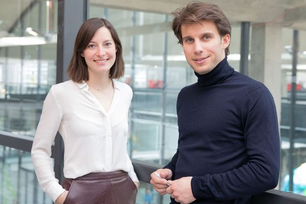Le Beauvaisien Ludovic de Gromard et son associée Clémence Coghlan ont lancé la plateforme Chance en 2015.