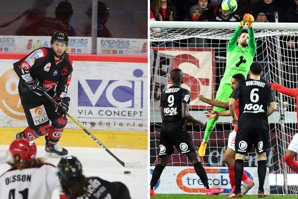 Un week-end marqué par deux défaites à Amiens, en hockey face à Anglet vendredi, et en Ligue 1 contre Brest le lendemain.