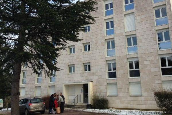 Des demandeurs d'asile sont logés par ADOMA dans l'ancienne gendarmerie de Pouilly-en Auxois, en Côte d'Or