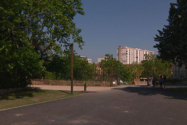 Le parc Blandan, un espace vert à la croisée de 3 arrondissements de Lyon.