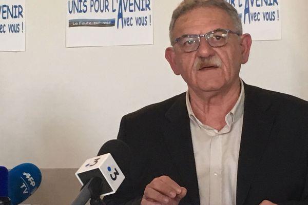 René Marratier estime avoir le droit d'être à nouveau maire.