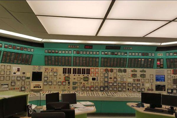 La salle de contrôle