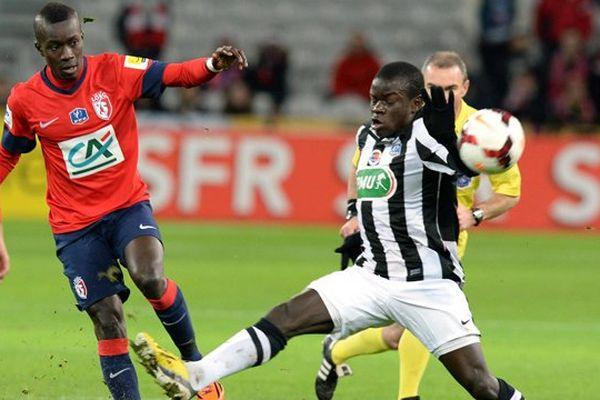 N'Golo Kanté du Stade Malherbe de Caen ce mardi soir à Lille