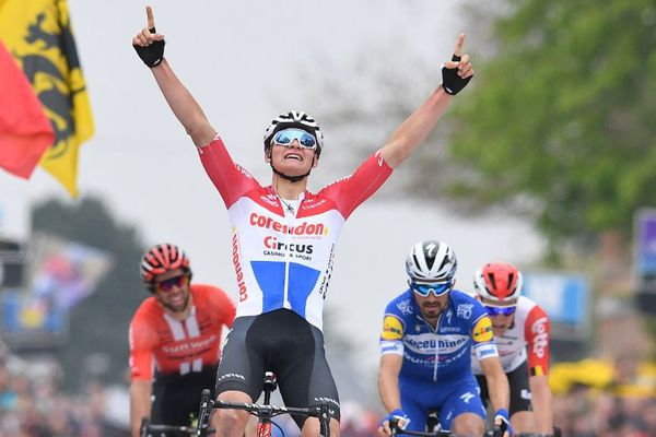 Van der Poel vainqueur de la 59e édition de la Flèche Brabançonne en Belgique.