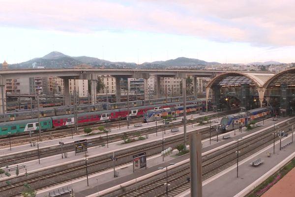 La gare de Nice