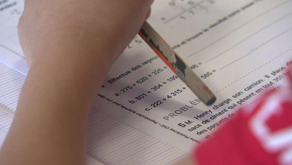 Mathématiques et français sont les deux matières qui sont essentiellement révisés