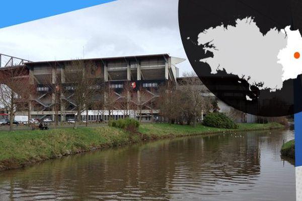 Le stade Rennais, paisible