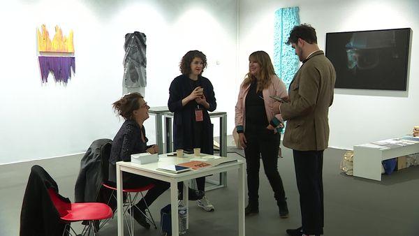Vortex Workshops stand - ART FAIR DIJON 2021