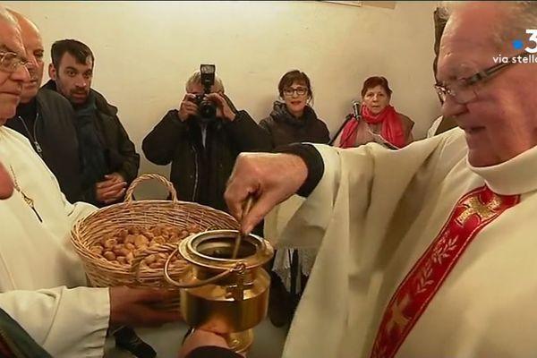 Les fidèles ont été nombreux à célébrer la Saint-Antoine du Mont à Ajaccio jeudi 17 2019 à Ajaccio.