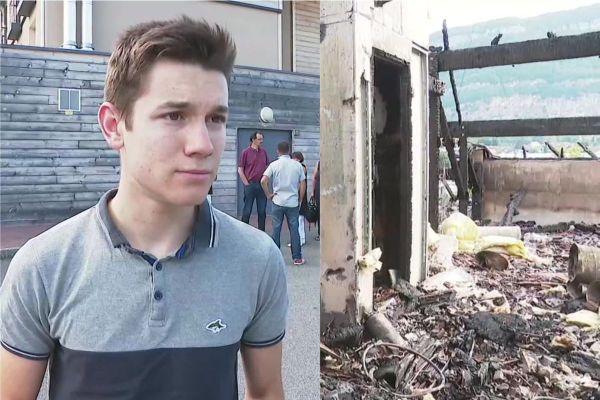 Clément n'a pas hésité à entrer dans l'établissement en flammes pour sauver plusieurs pensionnaires.