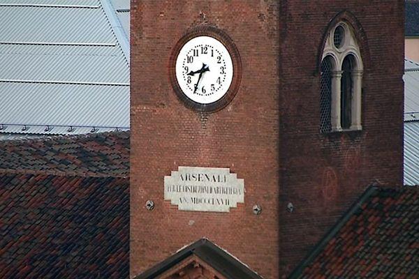 L'Arsenal de Turin est devenu le siège d'un véritable monastère urbain dédié à la paix entre les hommes