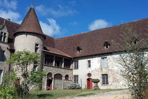 Le château de Losmonerie à Aixe-sur-Vienne