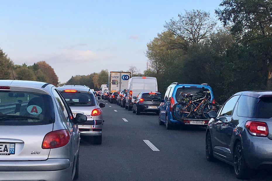 CARTE INTERACTIVE. Circulation sur les routes : Bison Futé classe la journée noire
