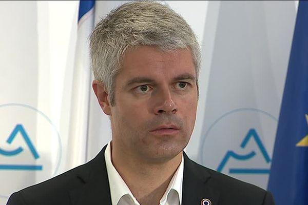 Laurent Wauquiez Président LR de la Région Auvvergne Rhône-Alpes