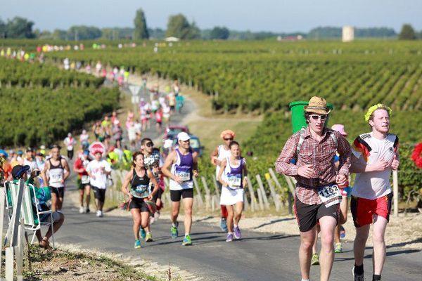 7650 coureurs ont terminé le Marathon du Médoc, à l'occasion de sa 31ème édition.