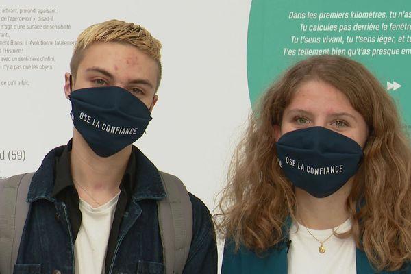 """Noa et Clélia sont originaires de Saint-Junien et Larche. Ils font partie des 36 lauréats du concours vidéo """"Moteur !"""""""