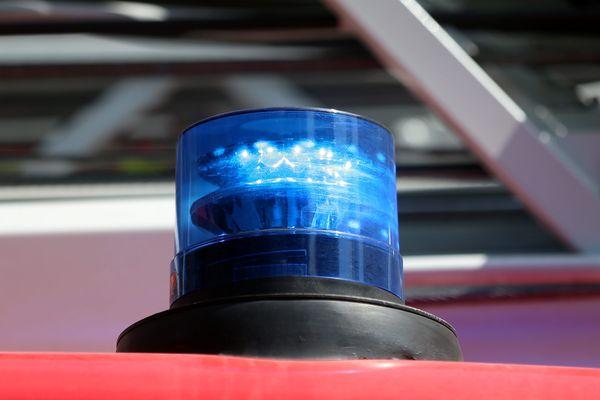 L'accident de la route s'est produit sur la D473 à Werentzhouse (Haut-Rhin).
