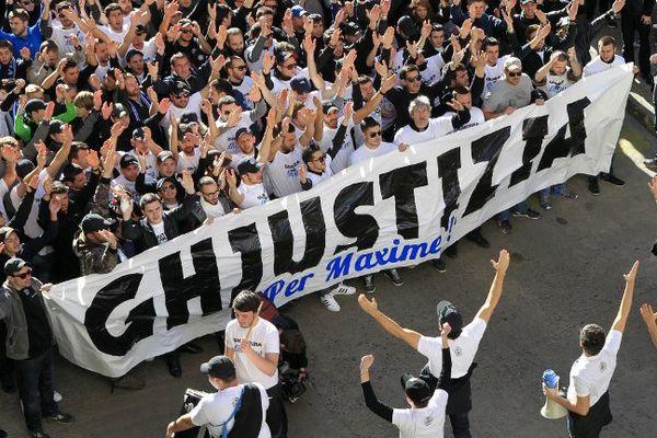 ARCHIVES - L'affaire Reims-Bastia a soulevé une importante mobilisation en Corse.
