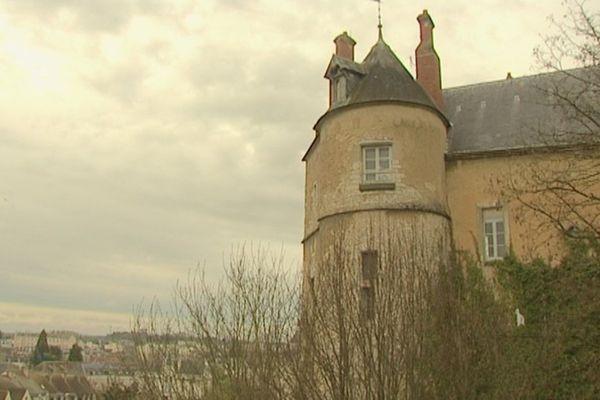 Le château de Montargis (Loiret)