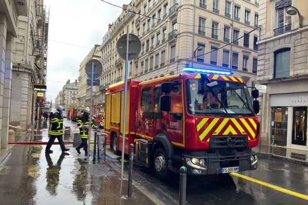 Incendie rue Thomassin : plusieurs blessés