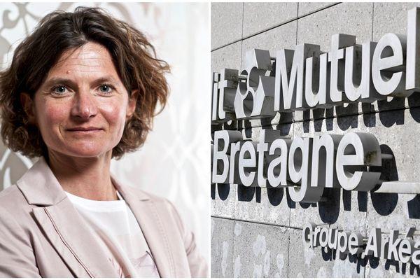 Hélène Bernicot prend la suite de Ronan Le Moal à la tête du Crédit Mutuel Arkéa