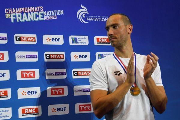 Jérémy Stravius n'est pas parvenu a réalisé le temps requis sur 100m nage libre pour se qualifier pour les Mondiaux 2019 de Gwangju (Corée du Sud), qui se dérouleront du 21 au 28 juillet 2019.