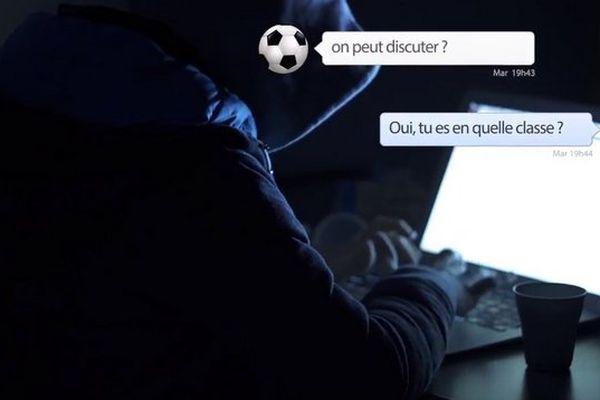 Clip de la gendarmerie de l'Hérault contre les mauvaises rencontres sur internet.