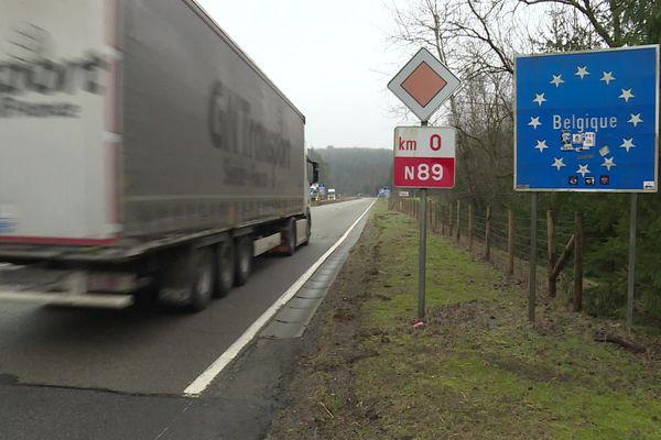 Les déplacements interfrontaliers entre la France et la Belgique sont encore soumis à restrictions.